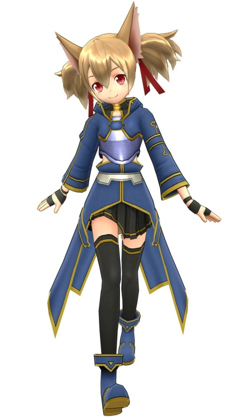 Silica ALO Lost Song art